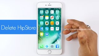 Delete HipStore App from iPhone