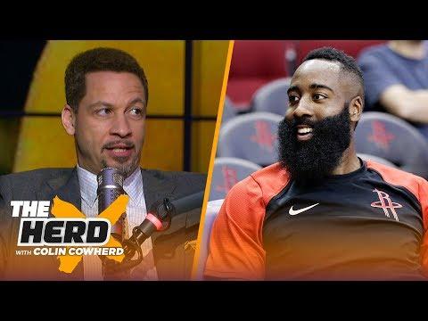 Chris Broussard talks James Harden s MVP pace the Lakers & Jimmy Butler s attitude NBA THE HERD