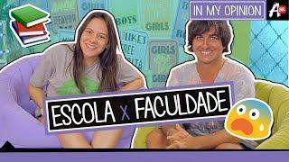 ESCOLA X FACULDADE | Boys & Girls com Becca Pires e BomDiaLeo