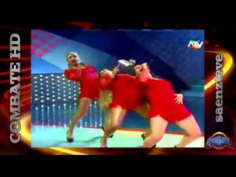 COMBATE Desafío De Baile Micheille Soifer Yidda Eslava y Sheyla Rojas Son Las Chicas Del CAN.