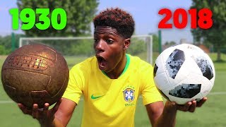 1930's vs 2018 WORLD CUP FOOTBALL!! - which is better??