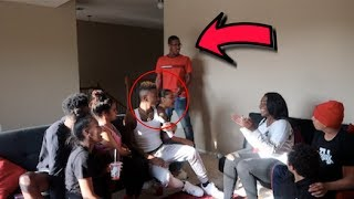 REUNITED WITH MY CRUSH PRANK ON FUNNYMIKE FT JALIYAH