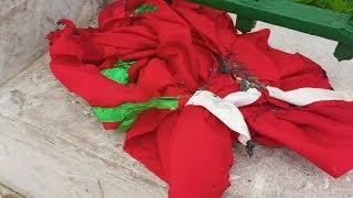 إيقاف 6 قاصرين متورطين في إحراق العلم الوطني