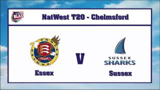Mustafizur's 4 Wicket Haul | Sussex Vs Essex | Full Highlights | HD | Natwest T20 League | 2016