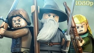 LEGO Lord of the Rings - All Cutscenes w/ Gameplay HD