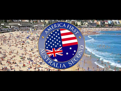 America First Australia Second Australia Welcomes Trump In His Own Words Official