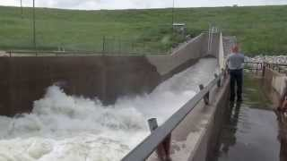 Ray Roberts 5,000+ cubic feet per second flow