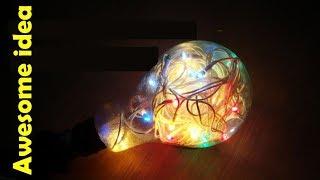 Awesome idea | old light bulb |