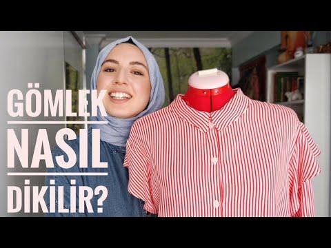 Volan Detaylı Gömlek Nasıl Dikilir? || Ayrıntılı Açıklamalı