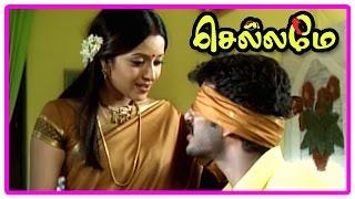 Chellame movie scenes | Bharath comes to Goa | Vishal asked to go to Mumbai | Reema Sen