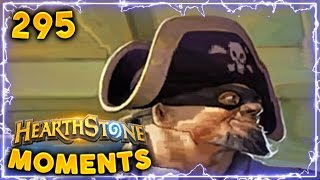 He got Luckiest Swashburglar Ever!!   Hearthstone Daily Moments Ep. 295 (Funny and Lucky Moments)