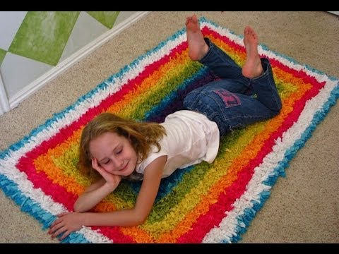 How To Make A T Shirt Recycled Rug