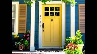 Contoh Warna Pintu Rumah
