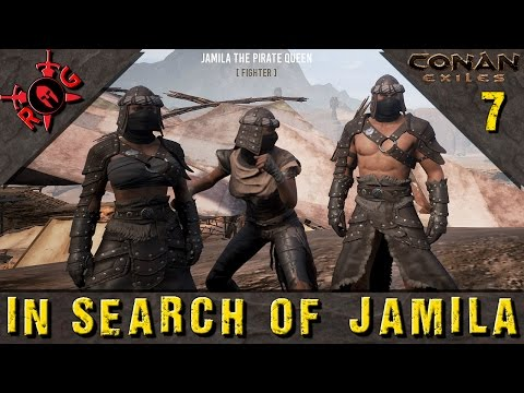 Conan Exiles: IN SEARCH OF JAMILA! [Learning Mitra Religion] Ep 7