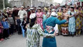 Navruz dancing in Tajikistan 2