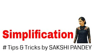 Simplification Tricks and Shortcut for BANK PO, SBI PO & SSC