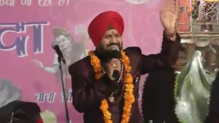 Kuljinder raju live jagran Baba balak nath ji at Chandigarh