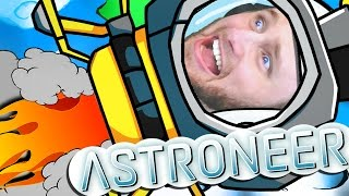 ASTRONEER | SHUTTLE TO THE MOON!! [3]