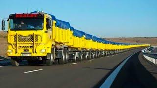 أطول 10 شاحنات في العالم لن تصدق حجمها..!!