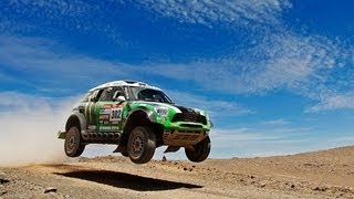 110mph Over Sand Dunes - Inside X-raid and MINI ALL4 Racing - /DRIVEN