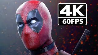 Deadpool Game Cutscenes Funny Moments