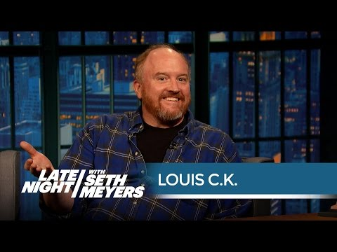 Louis C.K. Remembers Writing for Conan Late Night with Seth Meyers
