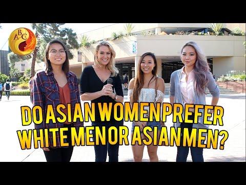 Do Asian Women Prefer To Date White Men Over Asian Guys? 亚裔女生在亚裔男生和白人男生间会选择偏向于跟白人男生约会吗?