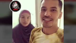 Amboi selama ni tak sesuai ke.Comelje Datin Shahida marah Dato Aliff Syukri komen pasal gaya tudung
