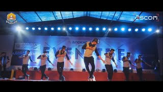 Dance in Amrita university Anokha 2016 by telugu team E360