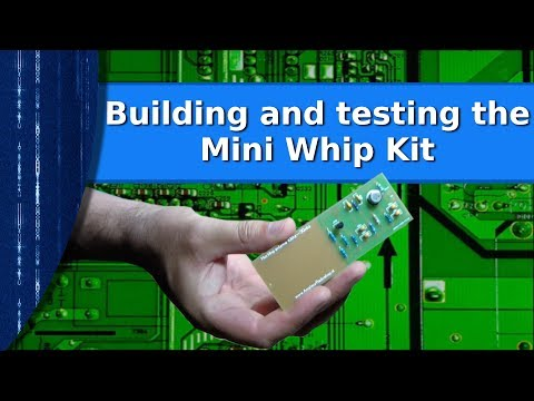 Ham Radio - Building and testing the commercial Mini Whip kit