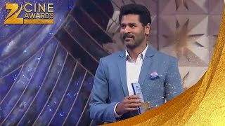 ZCA 2013 Prabhudeva does Chinta Ta Ta Dance Step on Stage