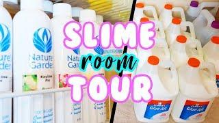 @UNIICORNSLIMESHOP SLIME ROOM TOUR 2018!!! 💦