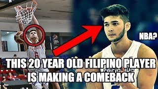 This 20 Year Old Filipino Basketball Player Is Making A Comeback
