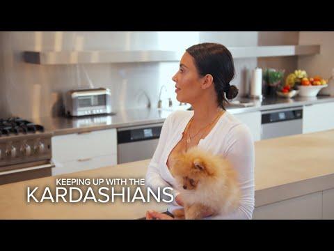 KUWTK Kim Kardashian Refuses to Return Kourtney s Dog E