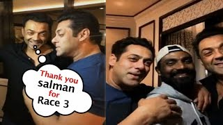 Salman Khan & Race 3 All Team Wishing for Valentines Day