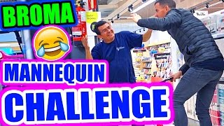 MANNEQUIN CHALLENGE BROMA!!!!!    ·VLOG·