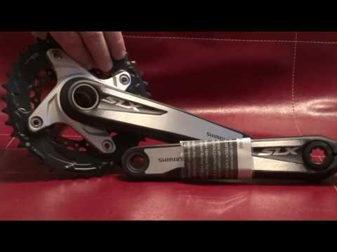 Pedivela Shimano F MC-677 SLX 38-24 175mm