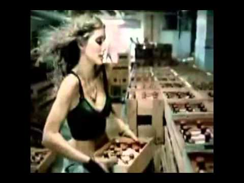 010 tui beer ad men work in beer factory full of girls   funny beer commercial ad from Beer Planet