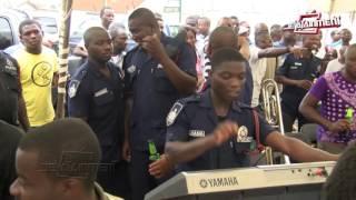 """Ghana police dance to Shatta Wale's """"Kakai"""" song"""