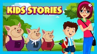 KIDS STORIES - BEST STORIES FOR KIDS || THREE LITTLE PIGS AND MORE - STORYTELLING