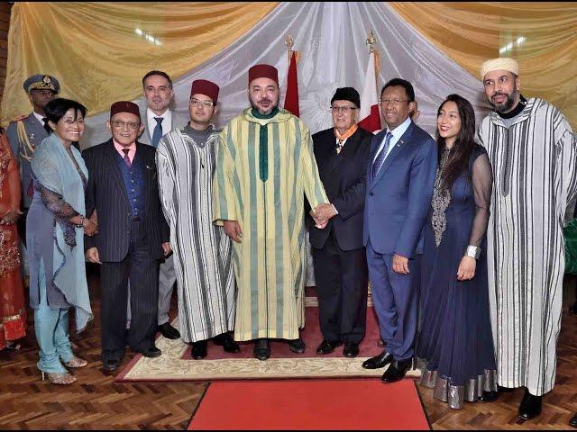 Mohammed VI retourne à Antsirabe, terre d'exil de son Grand-père