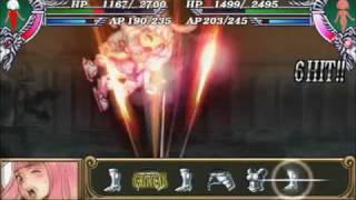 Queen's Blade Spiral Chaos Leina-a & Melona