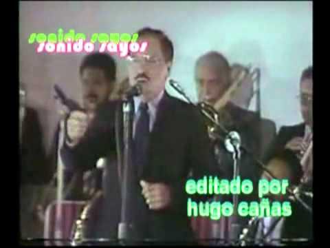Victor Perez junto a la Billos Caracas Boys se va el caiman en los 50 años de la orquesta