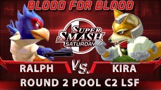 SSS: B4B - Ralph (Falco) vs. SSBM-T | Kira (Fox) - SSBM Round 2 Pool C2 Losers Semis - Smash Melee