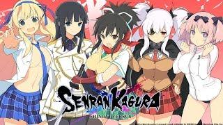 Ripping The Clothes Off Anime Girls | Senran Kagura Shinovi Versus