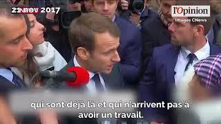 ماكرون لمغربية طلبته اللجوء: إذا لم تكوني في خطر عليك العودة إلى بلدك.