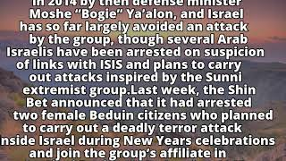 Shin Bet arrests Israeli for planning ISIS attacks