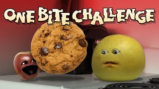 Annoying Orange - ONE BITE CHALLENGE!