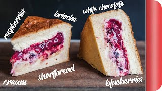 Barry's Banging Berry Brioche Loaf