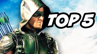 Arrow Season 4 Episode 14 - TOP 5 WTF and Easter Eggs